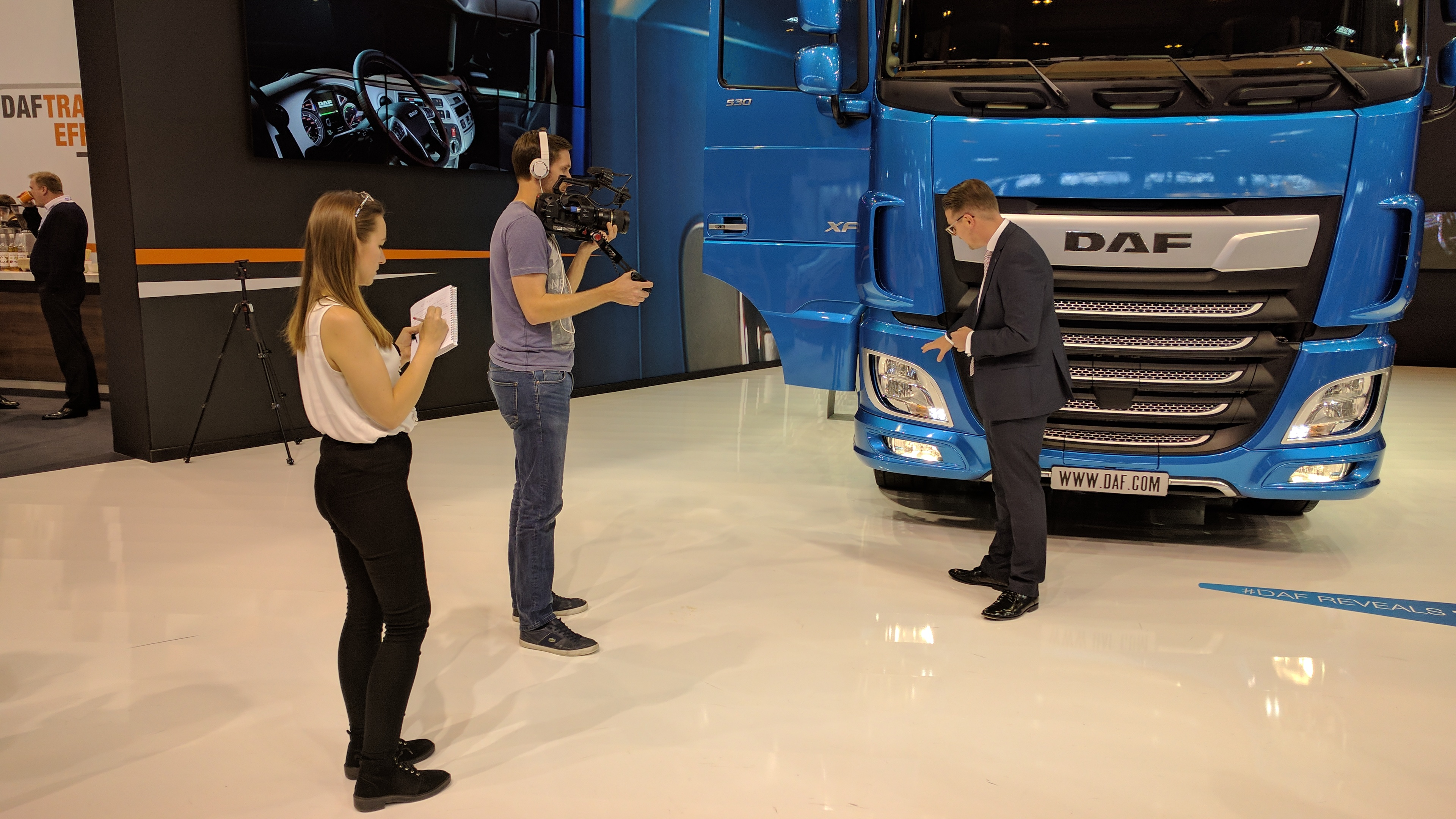 On-site event video from the CV Show